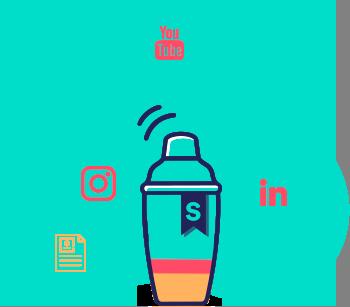 Story Shaker Logo mit Schrift